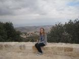 Atop Elijah's mountain in Ajloun, Jordan.