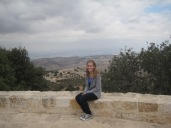 Atop Elijah's mountain in Ajloun, Jordan.