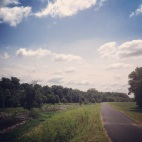 Northwest Branch trail, Brentwood, MD.