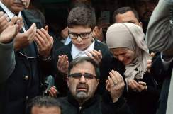 The family of Deah Barakat, who was murdered along with his wife and sister-in-law in Chapel Hill, NC. Several similar shootings have taken the lives of Muslim-Americans in recent weeks, but have received far less media attention.