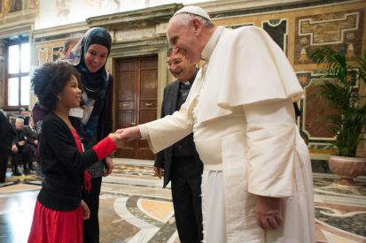 jerusha daughter pope francis